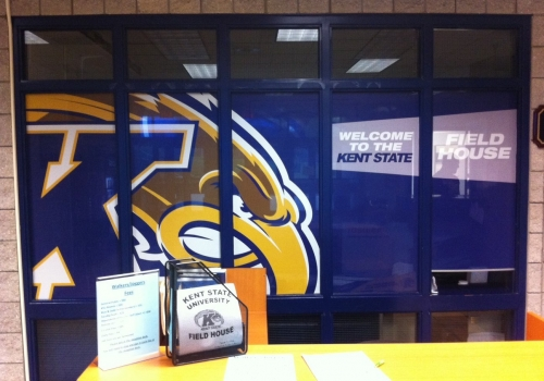 KENT STATE ATHLETIC FACILITY GRAPHIC