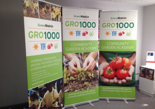 GRO1000 TRADE SHOW GRAPHIC